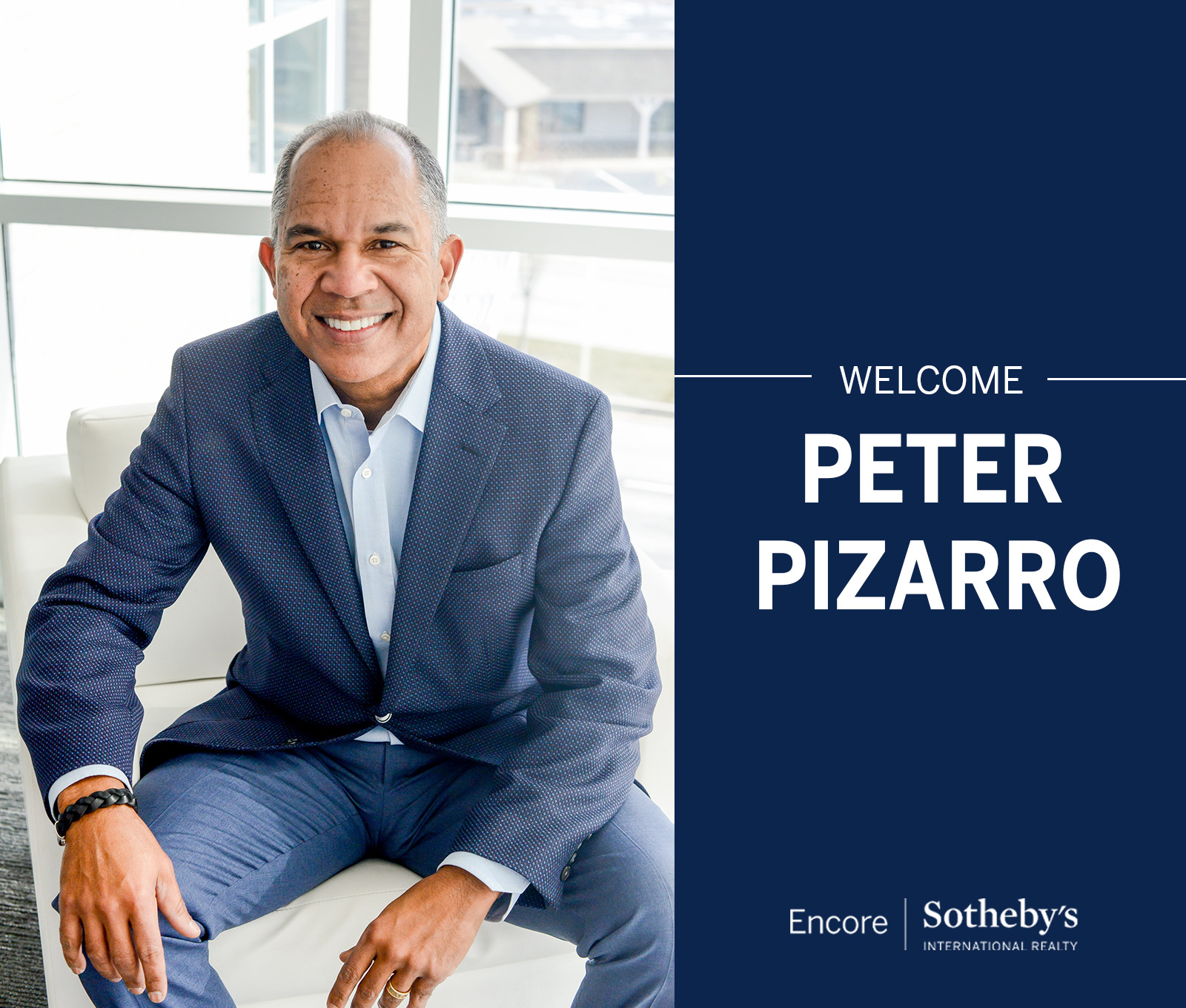 Encore Sotheby's International Realty Welcomes a New Broker Associate | Peter Pizarro